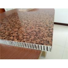 Textura de pedra Painéis de favo de mel Painéis de parede