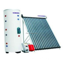 Split compact pressure heat pipe solar water heater popular in Europe