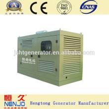 Generador diesel silencioso a prueba de lluvia de 300KW DAEWOO