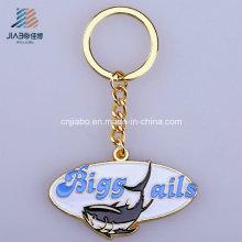 Approvisionnement De Porte-clés En émail De Chine Personnalisé Ovale Logo Métal Porte-clés