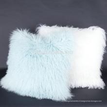 Coussin en laine de mouton tibétain haut de gamme