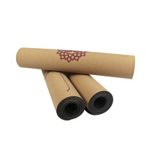 Custom Antislip Cork Yoga Mats of Eco Friendly