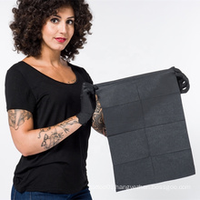 Waterproof Paper 125pcs Barrier Sheets Cleaning Pads 13 X18 inch For Piercing Disposable Black Tattoo Dental Bibs