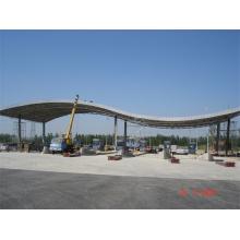 Prefab Gasoline Gas Station Station de péage