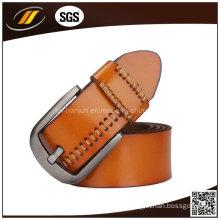 Men Pants Jean Pin Buckle Leather Belt (HJ0245)