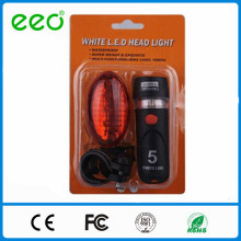 wholesale 2016 high quality LED laser bicycle dynamo light set