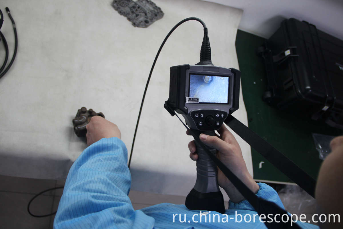 Automotive inspection borescope