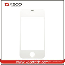 Cheap Selling for Apple iphone 4 Front Screen Glass Lens White