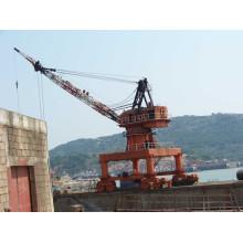 Electric Mobile Portal Grúa marina de pluma (SSG-03)
