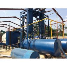 Sistema de óleo de plástico pirólise desperdício econômico de poupança de energia de 30%