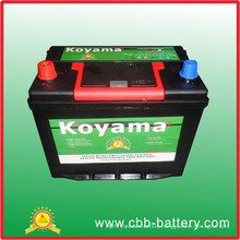 Top Selling Good Quality DIN Lead Acid Sealed Maintenance Free Starting Battery Ns70 Mf SLA