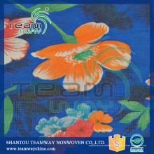 Service d'impression par transfert de chaleur pour tissu non tissé PET recyclé 240cm