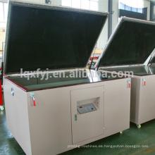 máquina de exposición de pantalla de seda automática al vacío