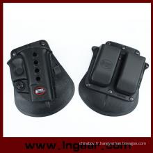 Pistolet militaire Glock 17/19 avec étui pochette Magazine
