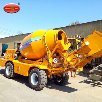 Self Loading Mobile Transit Cement Mixer Trucks