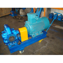 KCB200 Gear Oil Pump with Skid Trolley