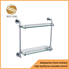 High Quality Stainless Steel Glass Shampoo Rack (AOM-8315)