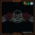Skull Red Rose transferts bling en gros