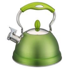 Green Plastic Insulation Layer Handle of Tea Pot