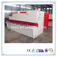 QC12Y-4x3200 machine à cisailler automatique hydraulique en tôle d'aluminium