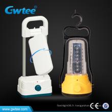 Lampe de camping solaire à LED rechargeable
