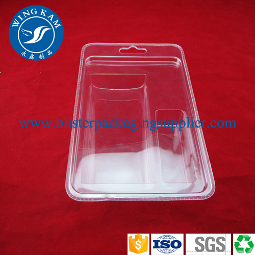 Transparente PVC-Clamshell Blister Verpackung