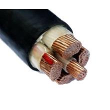 LV Cu / Al PVC / XLPE Câble d'alimentation non blindé isolé
