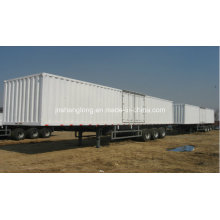 Semi-remolque del carro de tres toneladas 40 toneladas