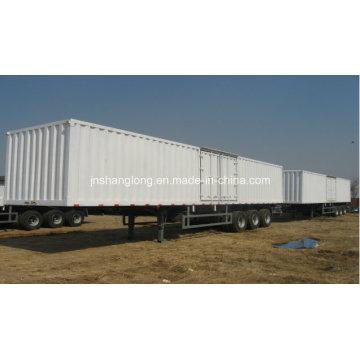 Three Axle 40 Ton Carriage Semi-Trailer