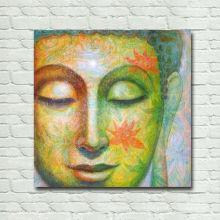 Pintura abstracta de Buda