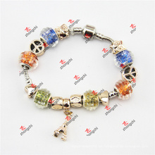 Mode Schlange Kette Glasperlen baumelt Armband Schmuck (POD60229)