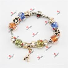 Fashion Snake Chain Perles de verre Dangles Bracelet Jewelry (POD60229)
