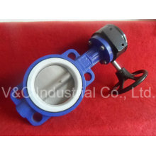 Manual Wafer Type Butterfly Valve