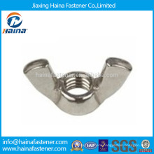 Stock DIN315 DIN314 Stainless Steel Butterfly Wing Nut M6-M64