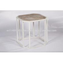 Octagon Metal Table