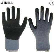 Latex Coated Yarn Shell Industrial Labor Protective Work Gloves (LH508)
