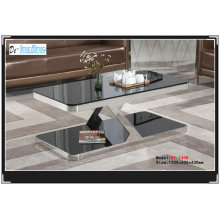 High Quality Living Room Glass Table (XF-1408)