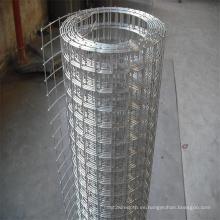 Hecho en China Alambre de acero inoxidable galvanizado Malla de alambre soldado con autógena / red