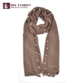 HEC Wholesale Foreign Trade Fashion Polyester Plaid Scarf For All Season