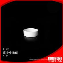 Runde Gestaltung Abendessen legt japanische Porzellan Keramik kleine Teller
