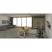 Formica Laminated Board Office Manager Director Table (HF-OFY001)