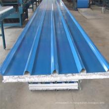 Panneaux isolés pour toiture prix fabriqués en Chine