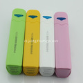 Promotionele Multicolor ABS Power Bank 2600mAh