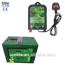 Batterie électrique de tension d'électrificateur de barrière de 9 V / batterie électrique de barrière / batterie de contrôle d'accès de 9v 55ah avec la batterie électrique de barrière de ce