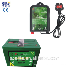 9 V electric fence energizer battery/electric fence battery/9v 55ah access control battery with ce electric fence battery