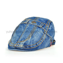 Fashion Denim IVY Baseball Cap, Sports Beret Hat