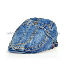 Moda Denim IVY boné de beisebol, Sports Beret Hat