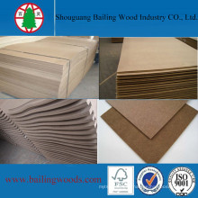 4X8 Waterproof Decorative Hardboard with Low Price