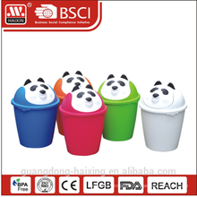 HaiXing интересные панда картина бен мусора 8 Л