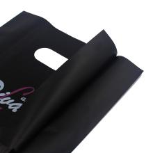 Black LDPE Die Cut Bag pour vêtement